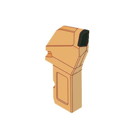 Зубок радиальный ЗР 4-80