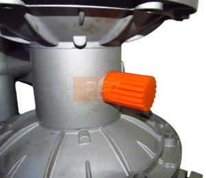 Пневматический мембранный насос