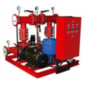 Насосная станция и насосная установка для систем пожаротушения