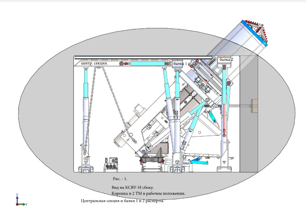 Бурошнековый комплекс КСВУ-Н вид сбоку
