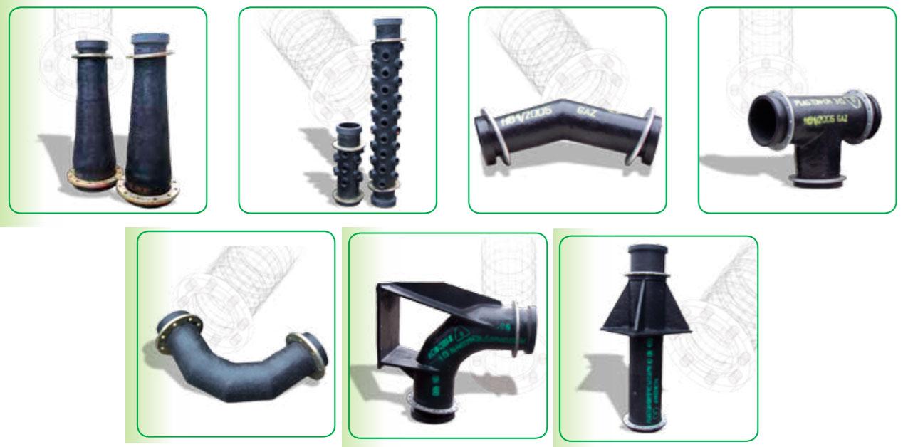 Фасонные части для трубопроводов PLASTON-P