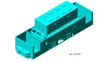 Китайский аккумуляторный электровоз ЗША-10.00.000
