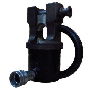 Пресс гидравлический ПГ 630 вид сбоку