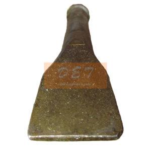 Лопатка к пневматическим отбойным молоткам