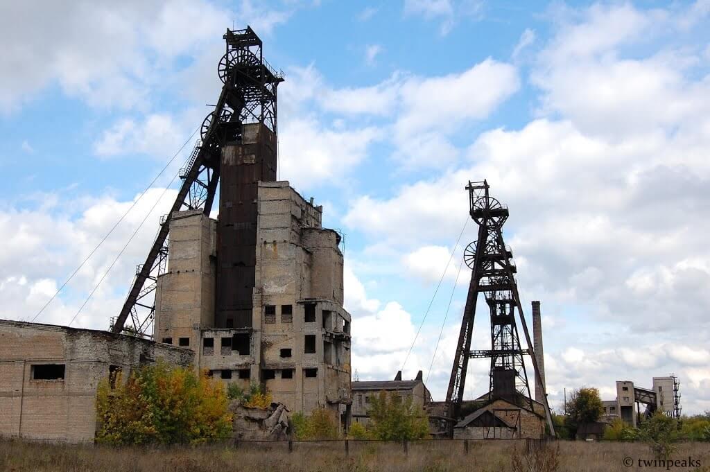 шахты в Украине