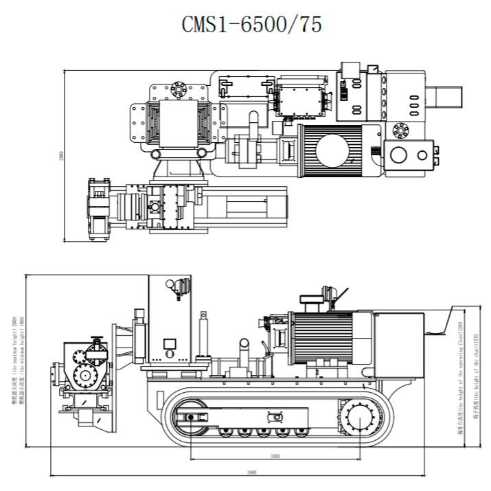 Чертеж буровой установки CMS1-6500/75