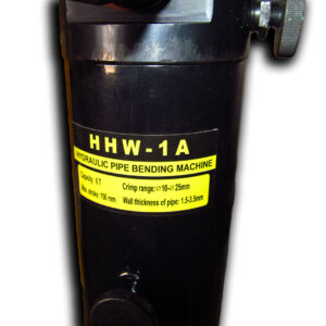 Трубогиб без станины HHW-1A подпись